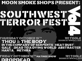 Southwest Terror Fest Returns To Tuscon Oct 15-18