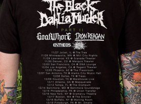 THE BLACK DAHLIA MURDER Set To Embark On Second Leg Of Headlining Tour In The US