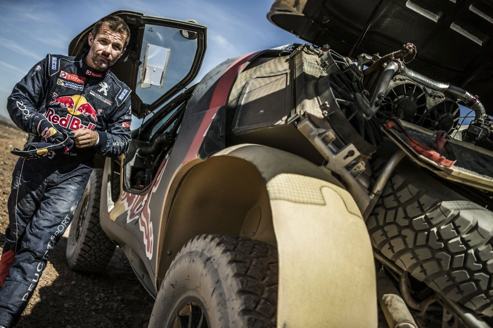 Rally OiLibya 2015 Morocco: Sebastien Loeb
