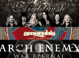 Metal Life Photos of NIGHTWISH, ARCH ENEMY and AMORPHIS in Germany