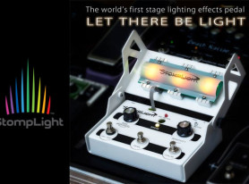 World's First LEP StompLight to Exhibit at NAMM 2016