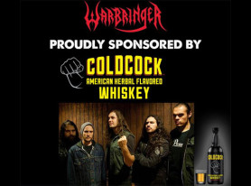 WARBRINGER Announce North American Tour Sponsorship By Coldcock Whiskey