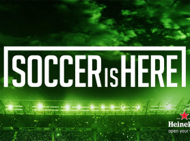 "Heineken launches ""Soccer Is Here"" campaign with Landon Donovan"