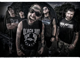 "SKINLESS Premiere New Music Video for ""Flamethrower"""