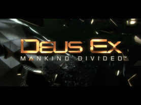 Deus Ex: Mankind Divided – Live Action Trailer Released