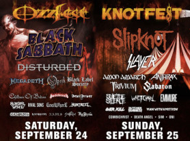 Ozzy Osbourne and Corey Taylor announce combination metal festival