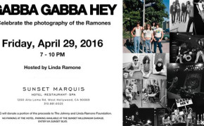 Metal Life coverage of RAMONES photo exhibit at Morrison Gallery in LA