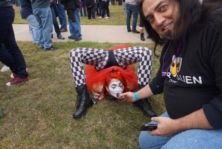 Scarlet Checkers and Metal Life founder Terry Bunch at the Craft Brew Circus in San Diego 2016