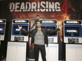 Dead Rising Endgame star Jesse Metcalfe plays game at E3