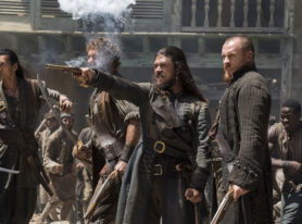 "Starz Sets A Course With The Fourth And Final Season Of ""Black Sails"""