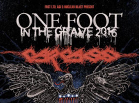 CARCASS To Kick Off One Foot In The Grave 2016 North American Headlining Tour