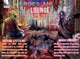 Announcing The Heroes Haven Lounge At Comic Con