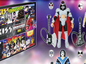 Exclusive KISS Unmasked Deluxe Action Figure Set at Comic Con 2016