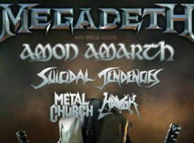 Amon Amarth announces USA tour with Megadeth, Suicidal Tendencies, Metal Church, Havok