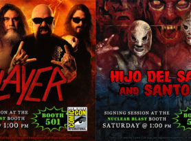 Nuclear Blast announces SLAYER and EL SANTO signings at Comic Con 2016