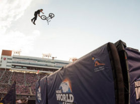 Nitro World Games excites with worlds first competitive double front flip