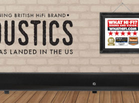 Famous UK Brand Q Acoustics Speakers Ready to Rock America