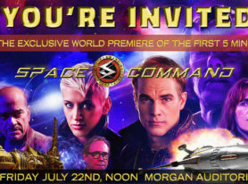 Space Command Launches Premiere at San Diego Comic Con