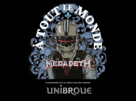 Megadeth and Unibroue join forces to launch new beer: À Tout Le Monde