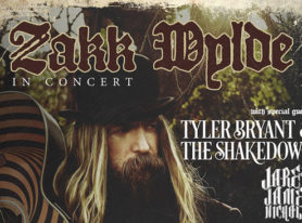 "Zakk Wylde ""Book of Shadows II"" Tour Dates"