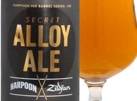 Harpoon Brewery and Zildjian cymbals collaborate on a craft beer