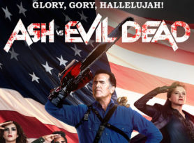 "STARZ Offers Bloody Good Time With Free Sampling Of ""Ash Vs Evil Dead"" Second Season Premiere Episode"