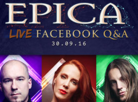 EPICA Live Q&A On Sept 30th Announced