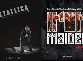 IRON MAIDEN & METALLICA New Updated Editions of the Best Selling Illustrated Histories
