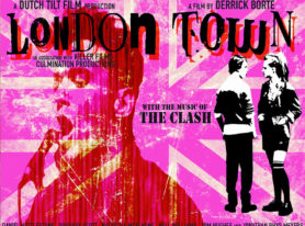 """movie """"London Town"""" tells story of Shay who meets The Clash frontman Joe Strummer"""
