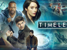 "time travel adventure series ""Timeless"" debuts on NBC on October 3"