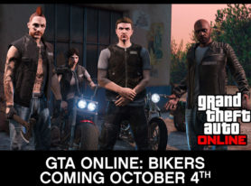 GTA Online adding underground motorcycle clubs Oct 4