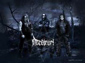 Norwegian black metallers NORDJEVEL release new video