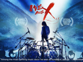 "X JAPAN documentary movie ""We Are X"" in theaters starting Oct 21"