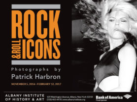 Photographer Patrick Harbron Opens Rock and Roll Icons Photography Exhibit