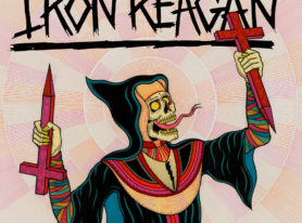 "IRON REAGAN release ""Bleed The Fifth"" music video"