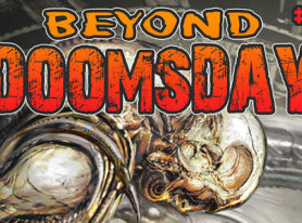 Beyond Doomsday #1 and #2 an anthology of illustrated post apocalyptic stories