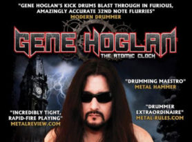 "GENE HOGLAN's ""The Atomic Clock: The Clock Strikes Two"" DVD to be Released February 3, 2017"