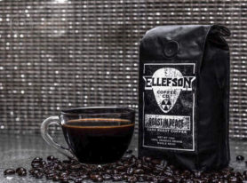 DAVID ELLEFSON opens coffee shop in his hometown of Jackson, MN