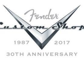 NAMM 2017: Fender Custom Shop Commemorates 30th Anniversary