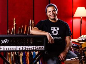 Peavey Collaborates with Periphery's Misha Mansoor on New invective 120 Guitar Amplifier