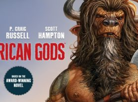 Neil Gaiman American Gods: Shadows comic preview