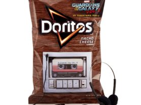 Doritos package plays 'Guardians of the Galaxy Vol. 2' soundtrack