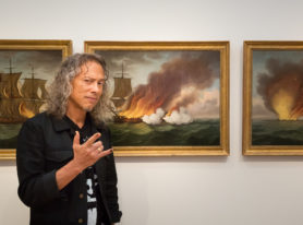 Kirk Hammett's personal Horror Show opens at Peabody Essex Museum
