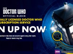 Nerd Block Announces Doctor Who Official Block