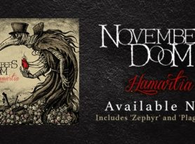 NOVEMBERS DOOM Release 10th Studio Album