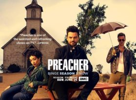 "AMC Releases A First Look Teaser Of ""Preacher"" Season Two"