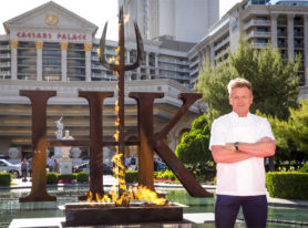 "Gordon Ramsay Announces World's First ""HELL'S KITCHEN"" Restaurant In Las Vegas"