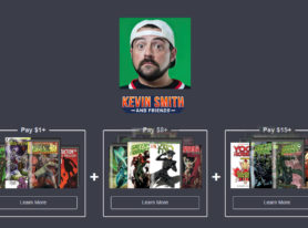 Kevin Smith & Friends comics bundles from Dynamite