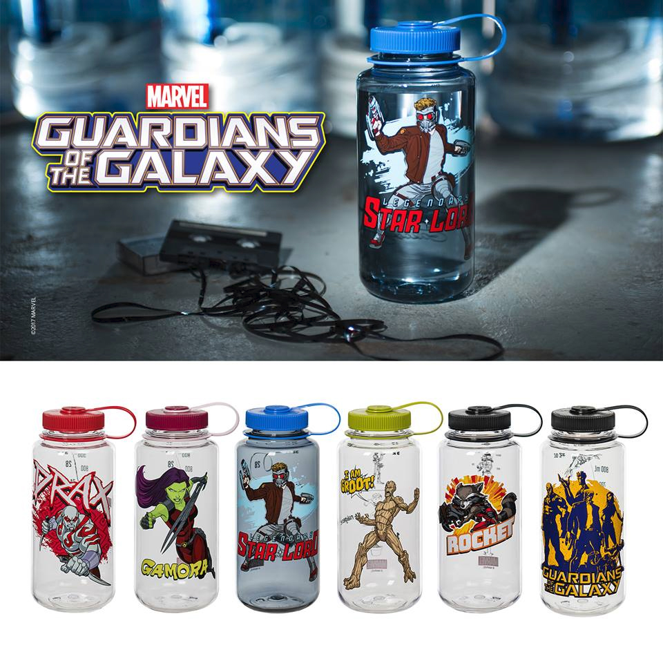 ab39006445 Nalgene Outdoor Unveils New Marvel® Universe-Inspired Bottles for the  Guardians of the Galaxy