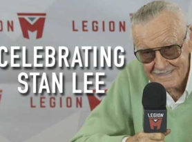 Marvel Comics Legend Stan Lee Puts Handprints and Footprints In Cement